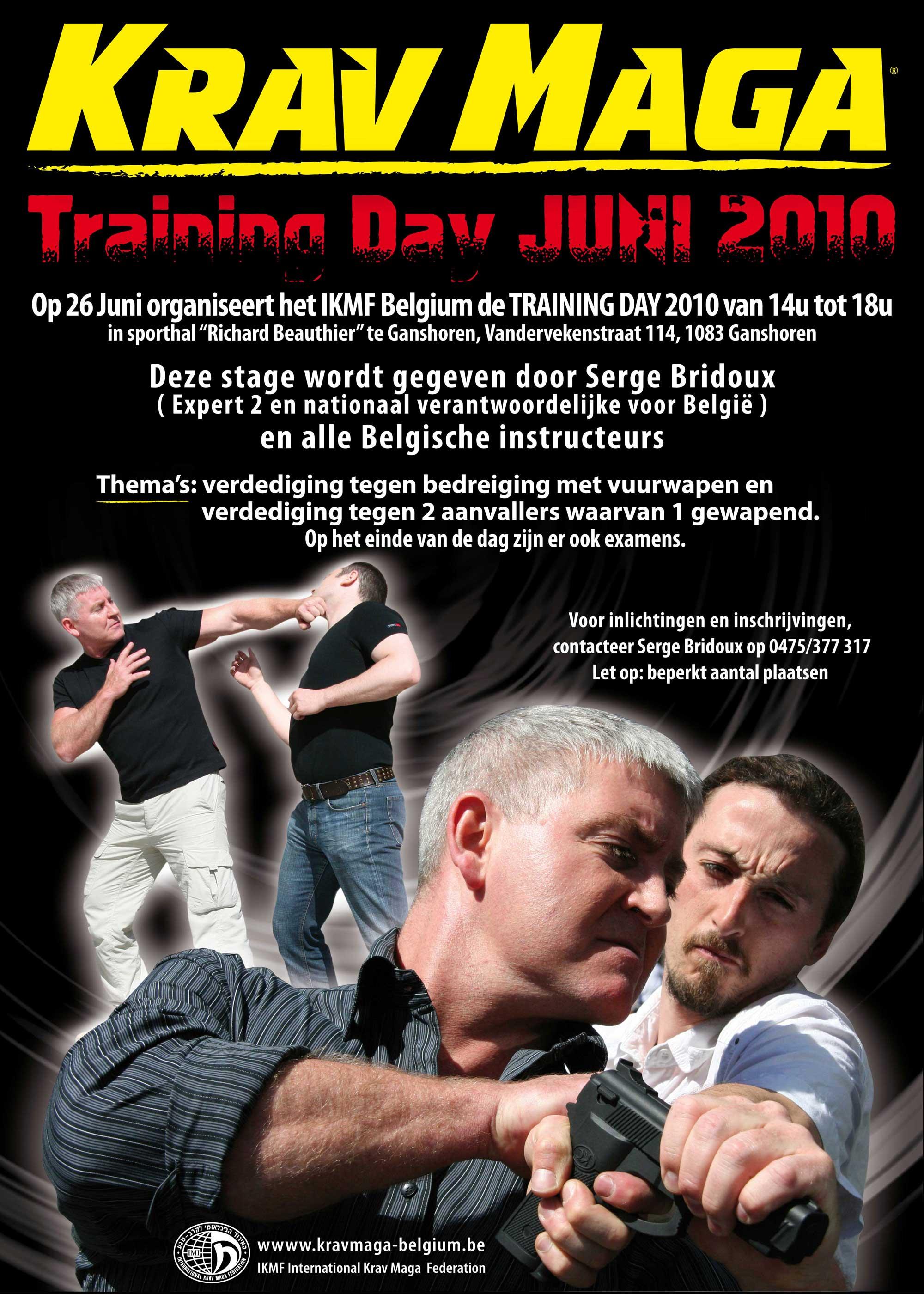 Training Day Summer 2010 Belgium
