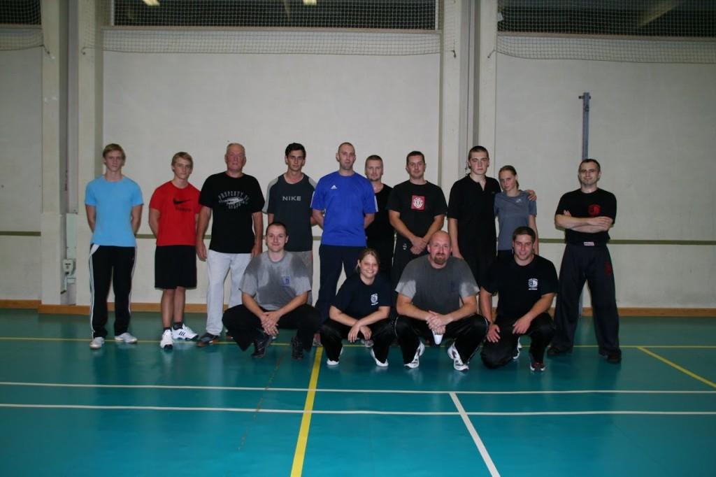 Eerste training in Brugge