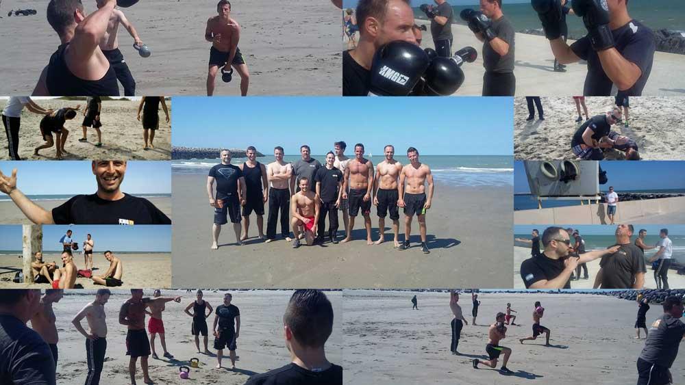 Krav @ the beach 2015